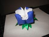 Оригами: делаем цветок лотоса Оригами Видео-уроки Уроки.