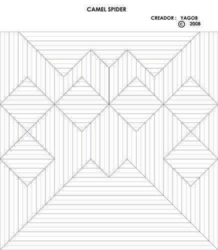 Intermediate Camel Spider Yago Braojos Passion Origami