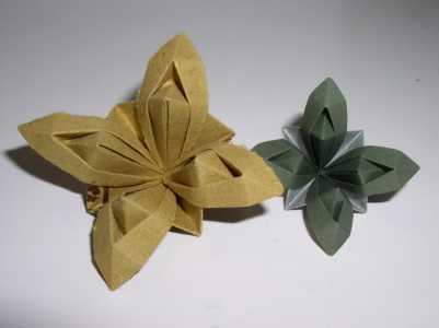 Оригами схемы цветов из бумаги.  Не знаете как скоротать вечерок.  Сделайте бумажный цветок!